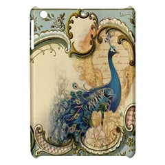 Victorian Swirls Peacock Floral Paris Decor Apple iPad Mini Hardshell Case