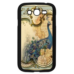Victorian Swirls Peacock Floral Paris Decor Samsung I9082(Galaxy Grand DUOS)(Black)