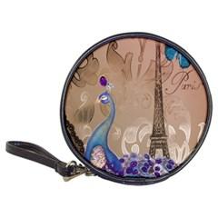 Modern Butterfly  Floral Paris Eiffel Tower Decor CD Wallet