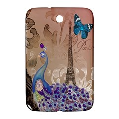 Modern Butterfly  Floral Paris Eiffel Tower Decor Samsung Galaxy Note 8.0 N5100 Hardshell Case