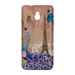 Modern Butterfly  Floral Paris Eiffel Tower Decor HTC 601e (One Mini) M4 Hardshell Case