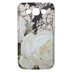 Elegant White Rose Vintage Damask Samsung Galaxy Win I8550 Hardshell Case