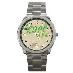 Patron Vegan Sport Metal Watch