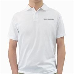 Sans titre-1noir Mens  Polo Shirt (White)