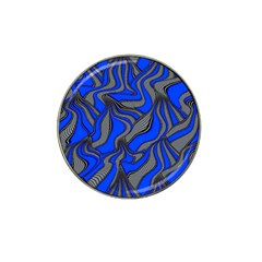 Foolish Movements Blue Golf Ball Marker 4 Pack (for Hat Clip)