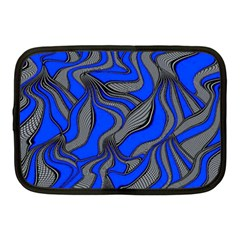 Foolish Movements Blue Netbook Case (Medium)