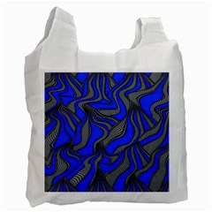 Foolish Movements Blue Recycle Bag (Two Sides)