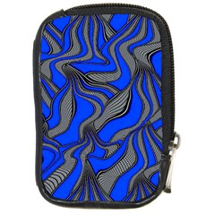 Foolish Movements Blue Compact Camera Leather Case