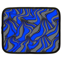 Foolish Movements Blue Netbook Case (XXL)
