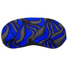 Foolish Movements Blue Sleeping Mask