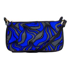 Foolish Movements Blue Evening Bag