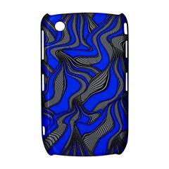 Foolish Movements Blue BlackBerry Curve 8520 9300 Hardshell Case