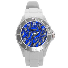Foolish Movements Blue Plastic Sport Watch (Large)