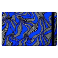Foolish Movements Blue Apple Ipad 2 Flip Case
