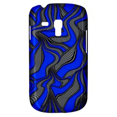 Foolish Movements Blue Samsung Galaxy S3 Mini I8190 Hardshell Case