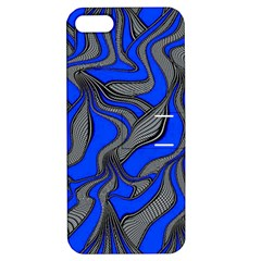 Foolish Movements Blue Apple Iphone 5 Hardshell Case With Stand