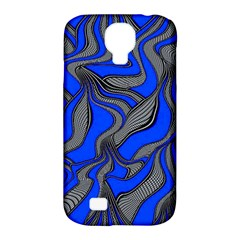Foolish Movements Blue Samsung Galaxy S4 Classic Hardshell Case (pc+silicone)