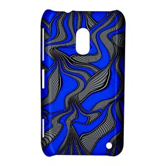 Foolish Movements Blue Nokia Lumia 620 Hardshell Case