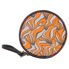 Foolish Movements Swirl Orange CD Wallet