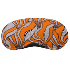 Foolish Movements Swirl Orange Sleeping Mask