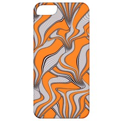 Foolish Movements Swirl Orange Apple iPhone 5 Classic Hardshell Case
