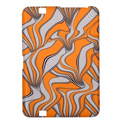 Foolish Movements Swirl Orange Kindle Fire Hd 8 9  Hardshell Case