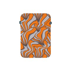 Foolish Movements Swirl Orange Apple iPad Mini Protective Soft Case