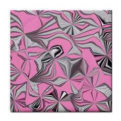 Foolish Movements Pink Effect Jpg Ceramic Tile