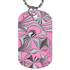 Foolish Movements Pink Effect Jpg Dog Tag (two Sided)