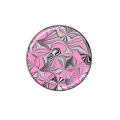 Foolish Movements Pink Effect Jpg Golf Ball Marker (for Hat Clip)