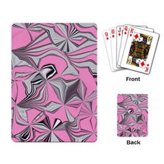 Foolish Movements Pink Effect Jpg Playing Cards Single Design