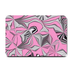 Foolish Movements Pink Effect Jpg Small Door Mat