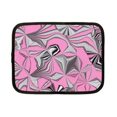 Foolish Movements Pink Effect Jpg Netbook Case (small)