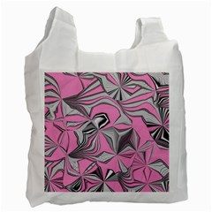 Foolish Movements Pink Effect Jpg Recycle Bag (two Sides)