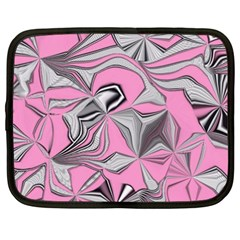 Foolish Movements Pink Effect Jpg Netbook Case (xxl)