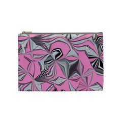 Foolish Movements Pink Effect Jpg Cosmetic Bag (Medium)