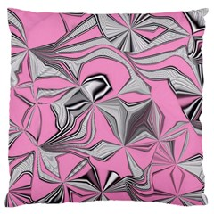 Foolish Movements Pink Effect Jpg Large Cushion Case (Two Sided)