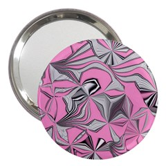 Foolish Movements Pink Effect Jpg 3  Handbag Mirror
