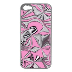 Foolish Movements Pink Effect Jpg Apple iPhone 5 Case (Silver)