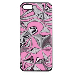 Foolish Movements Pink Effect Jpg Apple iPhone 5 Seamless Case (Black)