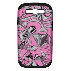 Foolish Movements Pink Effect Jpg Samsung Galaxy S Iii Hardshell Case (pc+silicone)