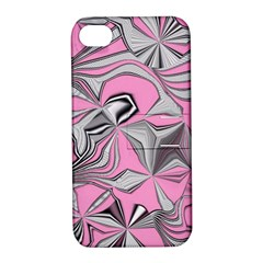 Foolish Movements Pink Effect Jpg Apple iPhone 4/4S Hardshell Case with Stand