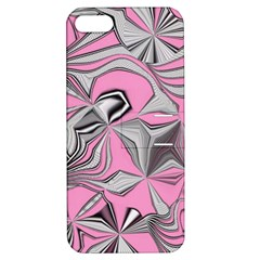 Foolish Movements Pink Effect Jpg Apple Iphone 5 Hardshell Case With Stand