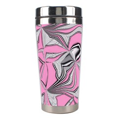 Foolish Movements Pink Effect Jpg Stainless Steel Travel Tumbler