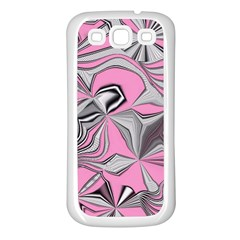 Foolish Movements Pink Effect Jpg Samsung Galaxy S3 Back Case (White)