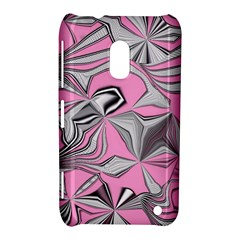 Foolish Movements Pink Effect Jpg Nokia Lumia 620 Hardshell Case