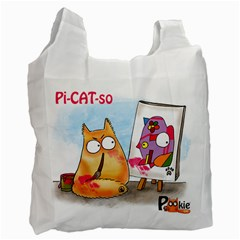 PookieCat - Picatso  Recycle Bag (One Side)