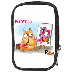 PookieCat - Picatso  Compact Camera Leather Case