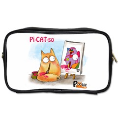 Pookiecat   Picatso  Travel Toiletry Bag (one Side)