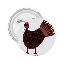 Turkey 2.25  Button